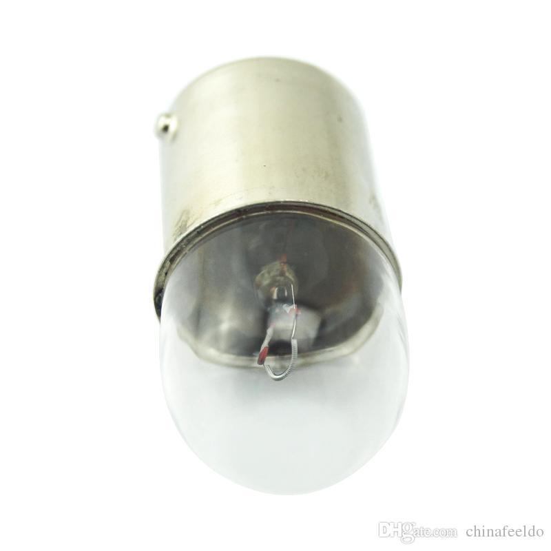 Car Light T1614 T16 24V5W BA15S 1156 Camion Trasparente Lampada di Vetro Girare Coda Lampadina Indicatore Auto Lampada Alogena # 3163