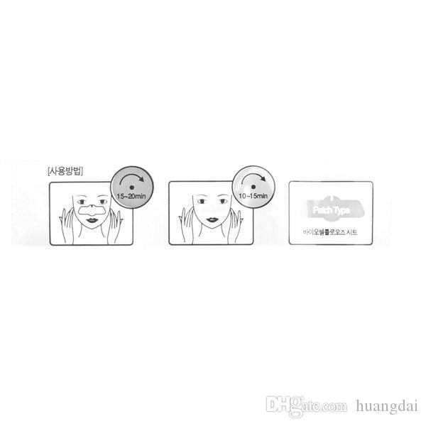 Masque De Nez De Cochon Blackhead Remover Masque De Nez Trois Étapes Kit Nettoyeur Profond Coréen Cosmétiques Visage Nez Masque De Traitement 2015 Vente Chaude