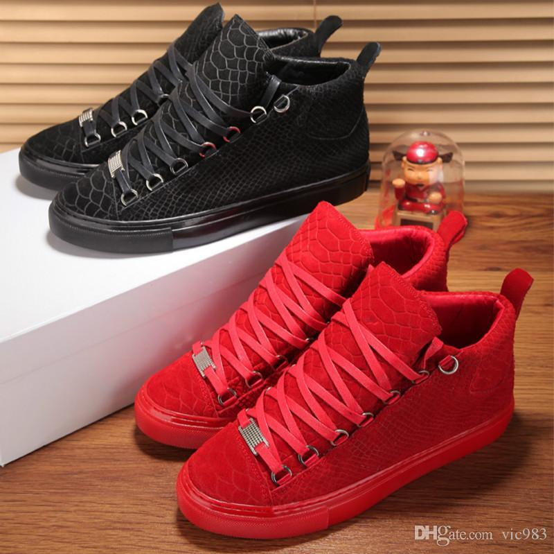 d02674a1a Fashion Shoes Classic European Station Fashion Trend of High-top ...