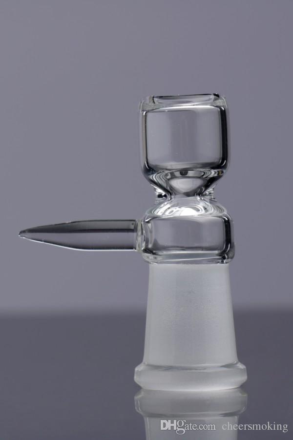 Tigelas de vidro Com Lidar Com Bongo De Vidro De Água Bong Acessório Feminino Barato Bongo De Vidro Tigelas de Ervas Frete Grátis