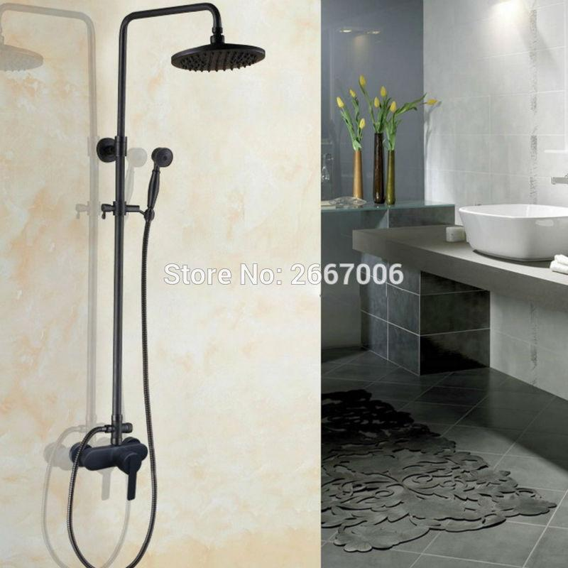Online Cheap Economic Copper Shower Set Wall Mounted Bathtub Faucet ...