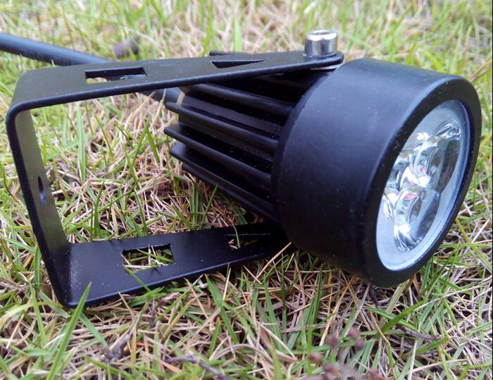 Outdoor Garden LED Lawn Lamps 3W High Power 3x1W Light Bulb 3 Watt Spot Lights Bulbs Spotlight CE ROSH Waterproof IP65 Lighting