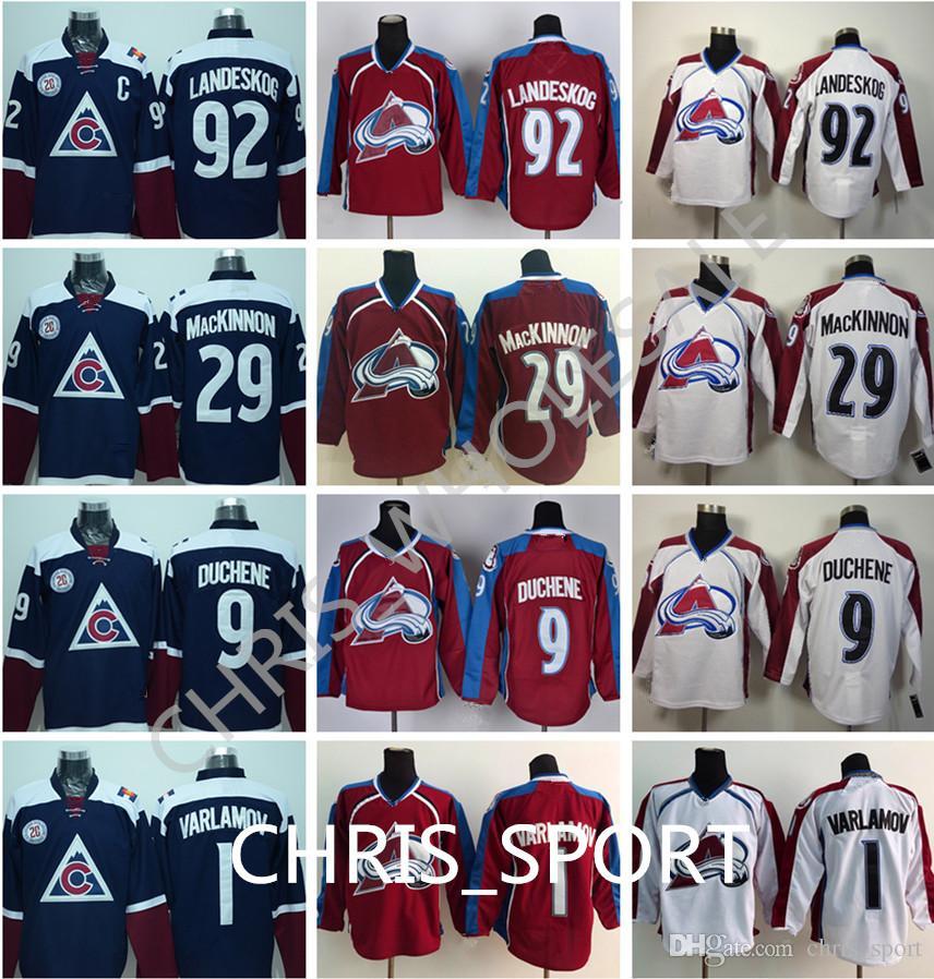 cde759f97 Colorado Avalanche Premier Hockey Jerseys  92 Gabriel Landeskog 29 ...
