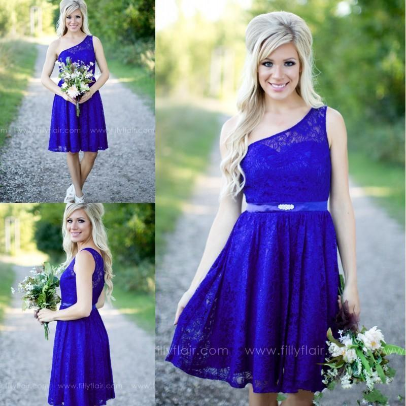 Two Pieces Bridesmaids Dresses Jewel Neck Chiffon Tulle A Line ...