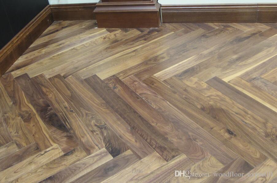 2018 Custom Wood Floor Black Wood Flooring Pear Sapele Wood Floor