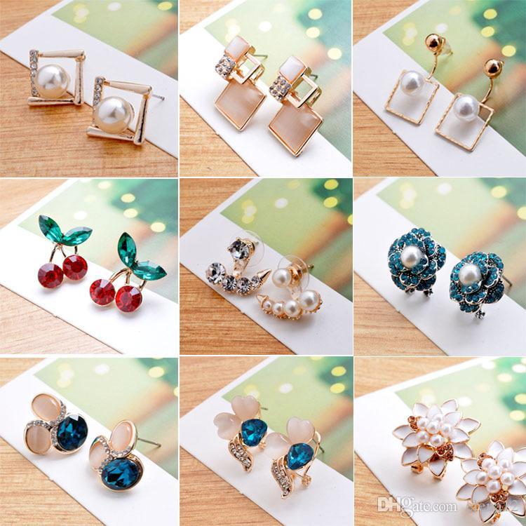 nuova stella dello stesso paragrafo orecchini opale orecchini in lega orecchini occhio di gatto designer orecchini di lusso gioielli donna orecchini