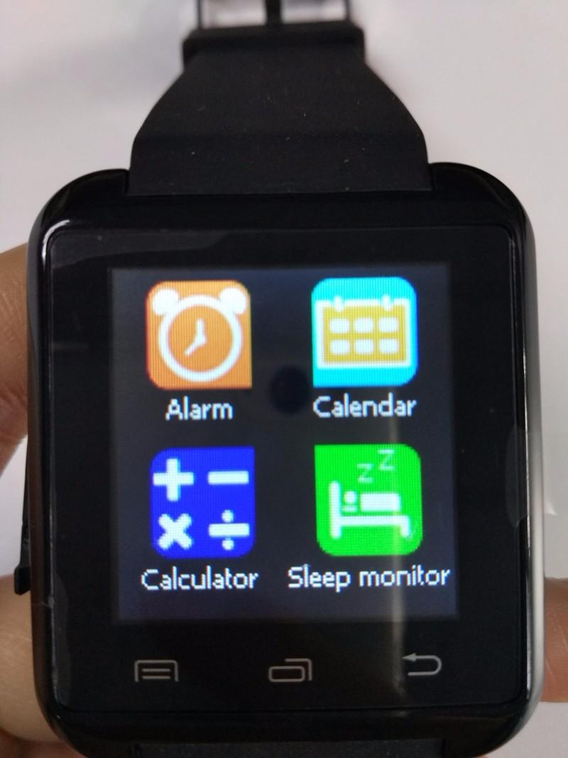 Bluetooth Smart Watch U8 Smartwatch U Watch For iOS iPhone Samsung Sony Huawei Android Phones Good as GT08 DZ09 U80