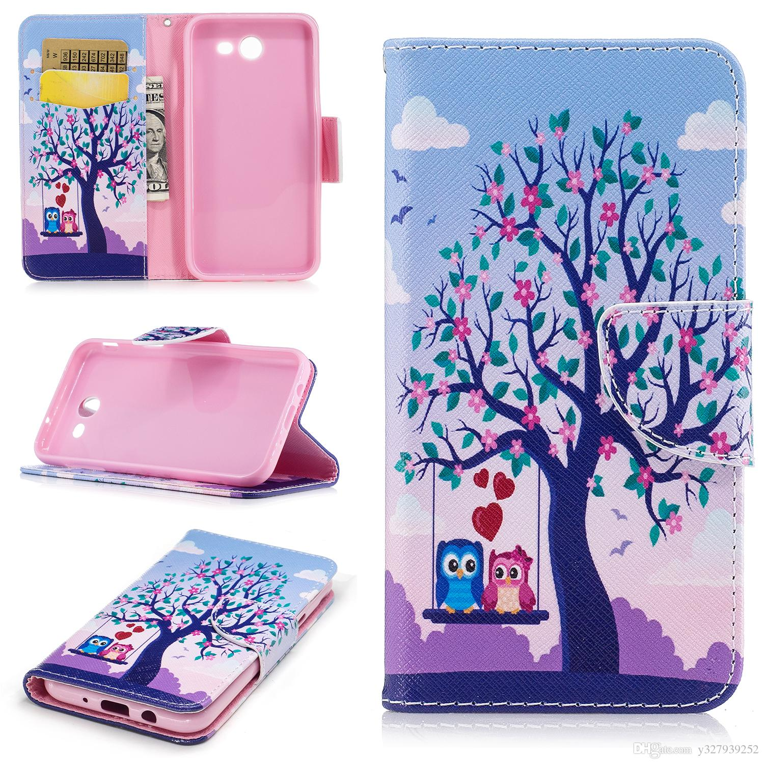 Flip Case For Samsung Galaxy J3 2017 J330f Ds Sm J330f Ds Phone Leather Cover For Samsung J 3 2017 330 J330 Sm J330g Phone Cases Cheap Cell Phone Cases