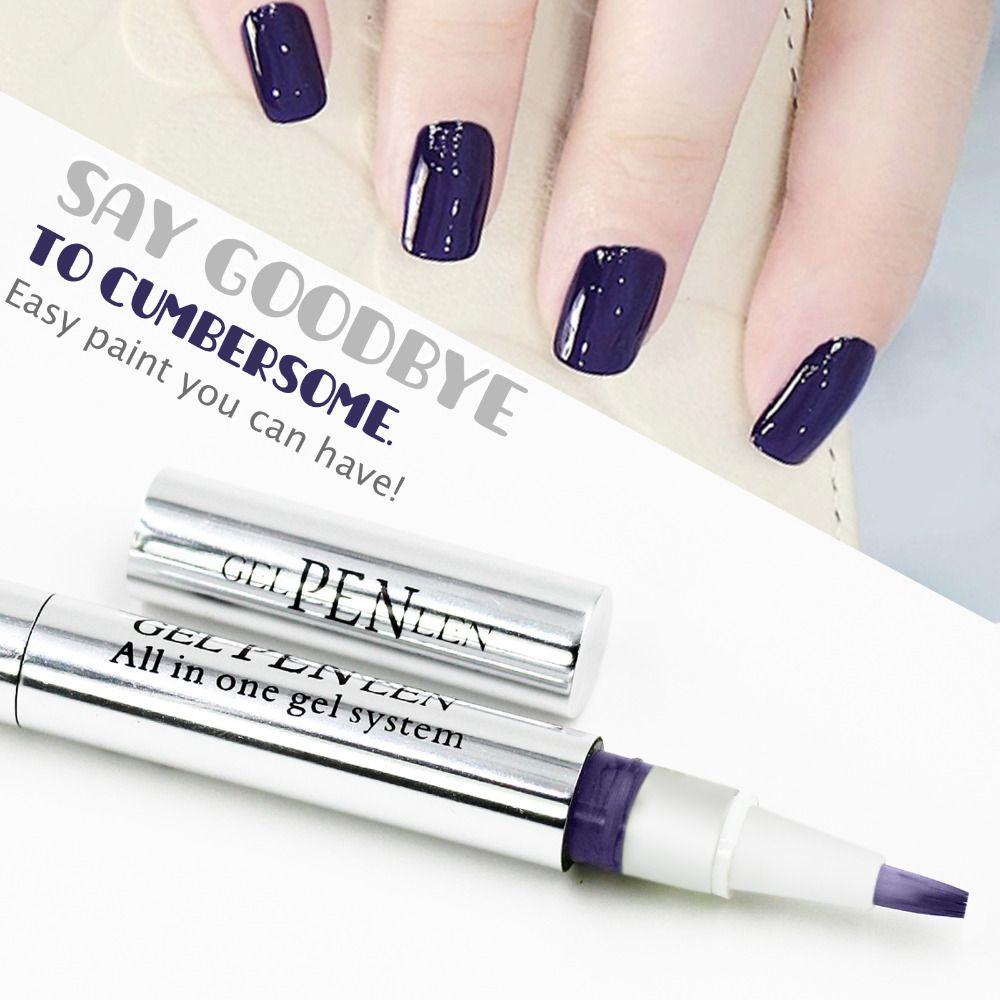 Wholesale Gel Len 50 Off Gel Polish Pen Nail Art Long Lasting Soak