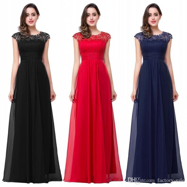 Vestidos De Novia 2016 Cheap In Stock Bridesmaid Dresses A Line ...