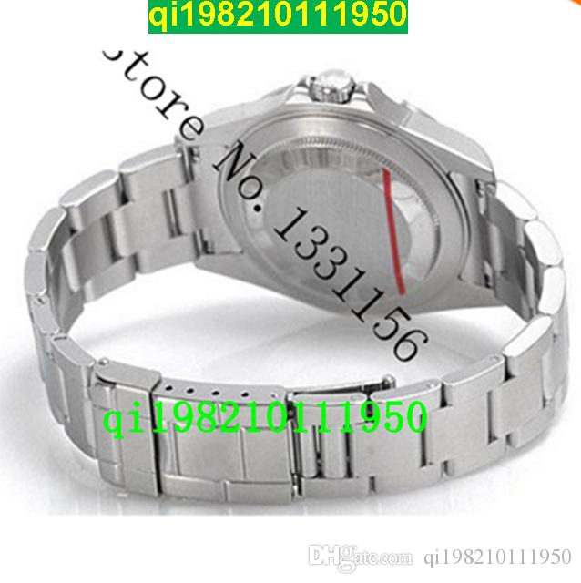Fabryka Sprzedawca Wysokiej Jakości Niska cena II Seria Sapphire Czarni Mężczyźni Zegarki mechaniczne 216570-77210 Dual Time Strefa stal nierdzewna Ste