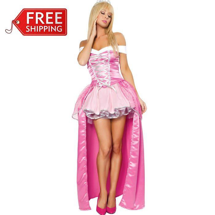 Princess Aurora Dress Adult Halloween Costumes For Women Fantasia ...
