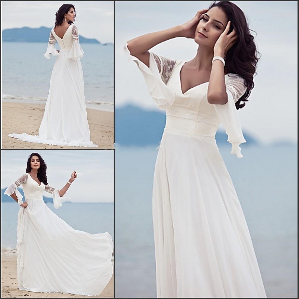 Vintage Chiffon Wedding Dresses – fashion dresses