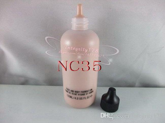 Studio Face and Body Foundation 120 ML 4oZ :NC15 NC20 NC 25 NC30 NC35 NC40