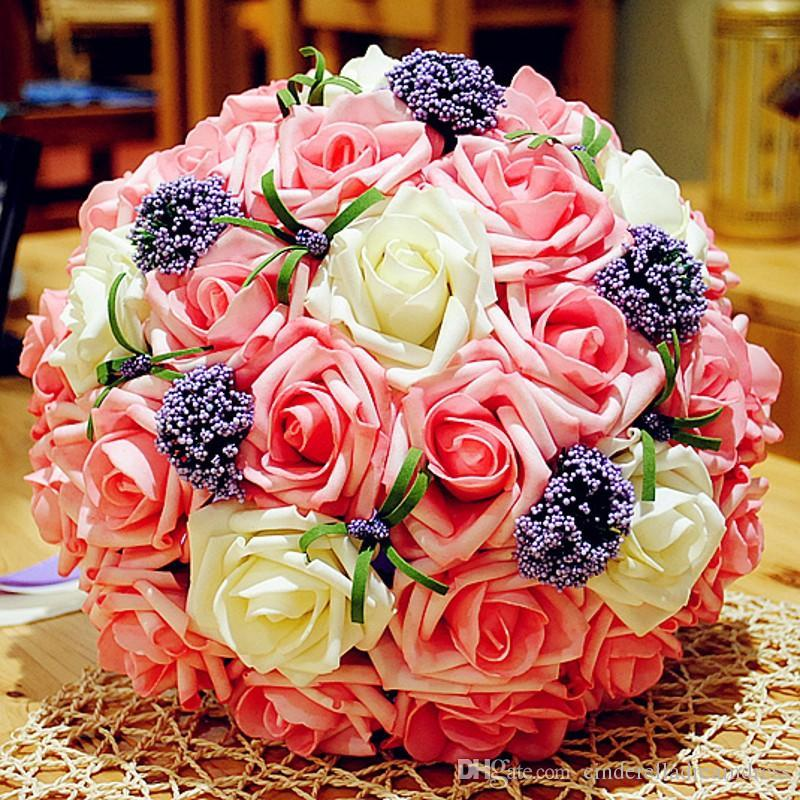 New Arrival Cheap Rose Wedding Bouquets Beautiful Rose Wedding ...
