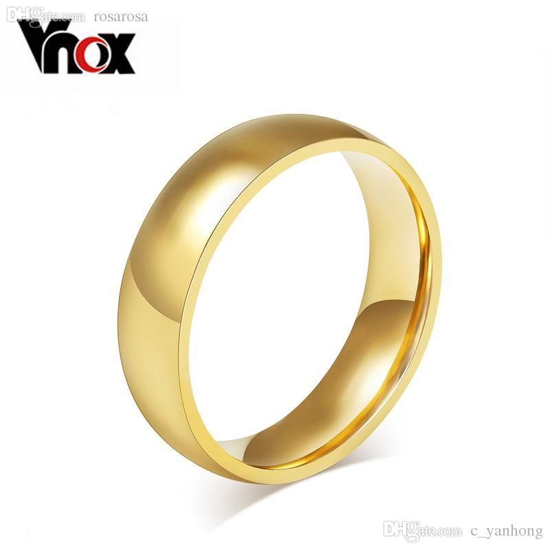 Wholesale Promotion 18k Gold Plated Ring Wedding Rings For Men Women
