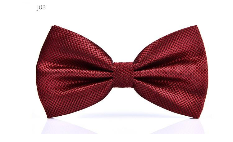 fashion bow tie dress shirt brand new adult bow tie wedding party accessory