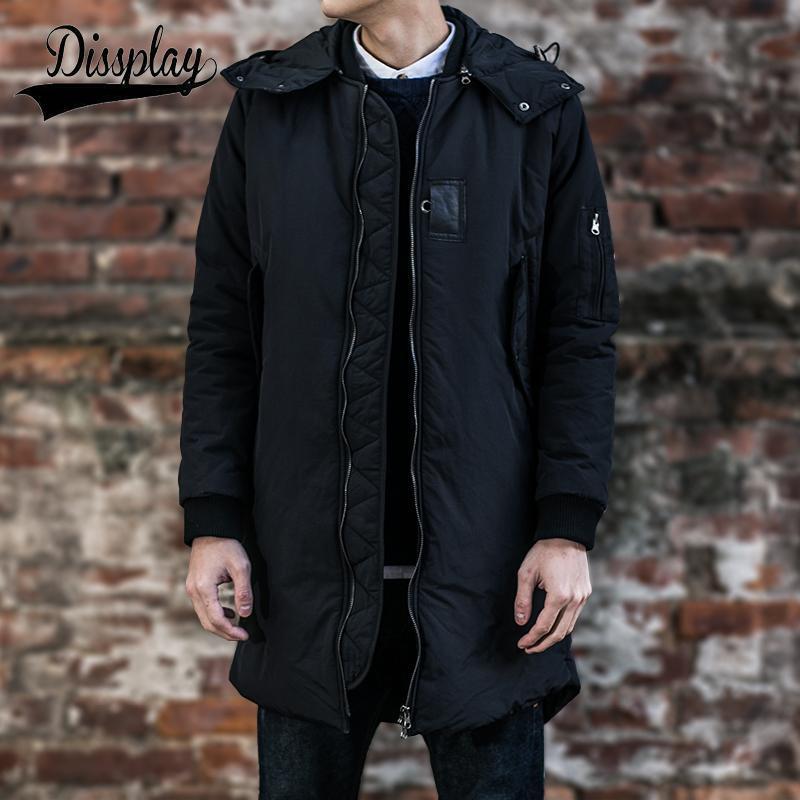 Best New Brand Winter Mens Ma1 Long Pea Coat Men'S Wool Coat ...