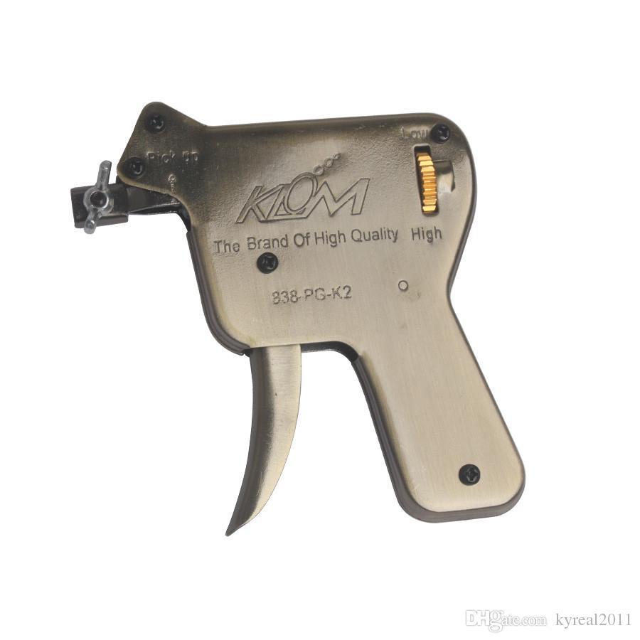 Klom hämtar pistol up lås plocka uppsättning uppåt dörrlås öppnare låssmed verktyg