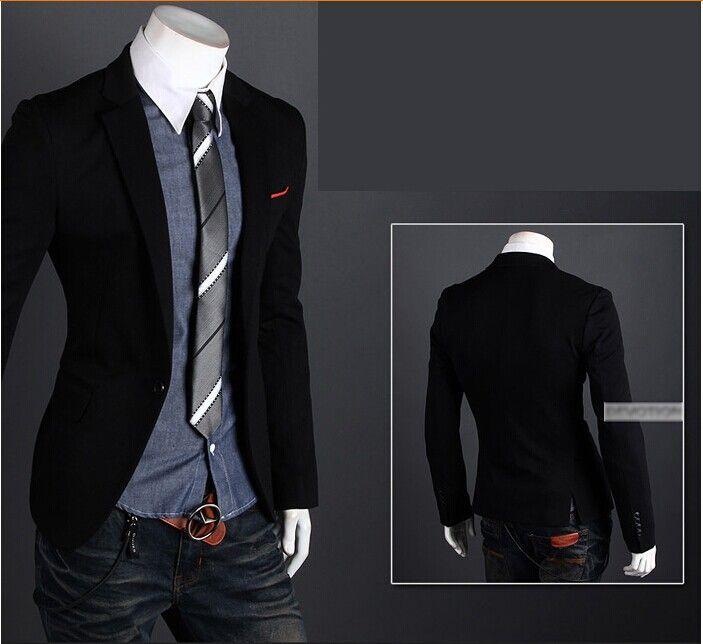 Mens Jackets Suits Blazers Casual Jacket Mans Waistcoat Suit ...