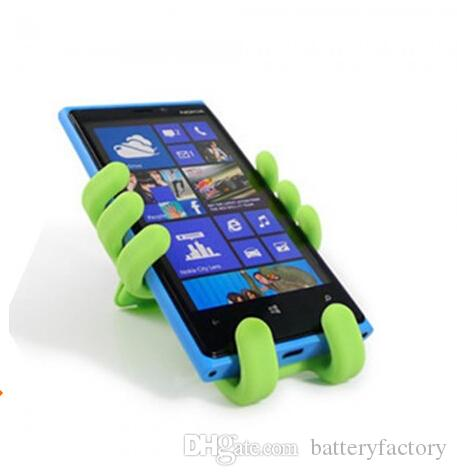 Newest ,Monkey Style Air Vent Car Mount Silicone Variety Holder for Phone, Lovely charm cell phone holder