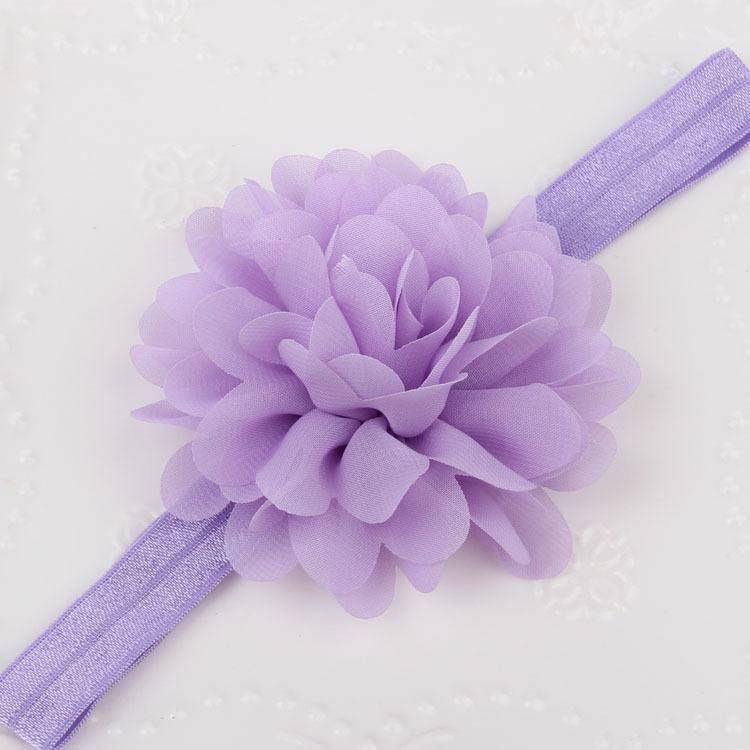 Dzieci Dziewczyna Dziecko Pałąk Toddler Koronki Koronki Pałąk Łuk Mini Kwiat Włosy Band Akcesoria Naklejki