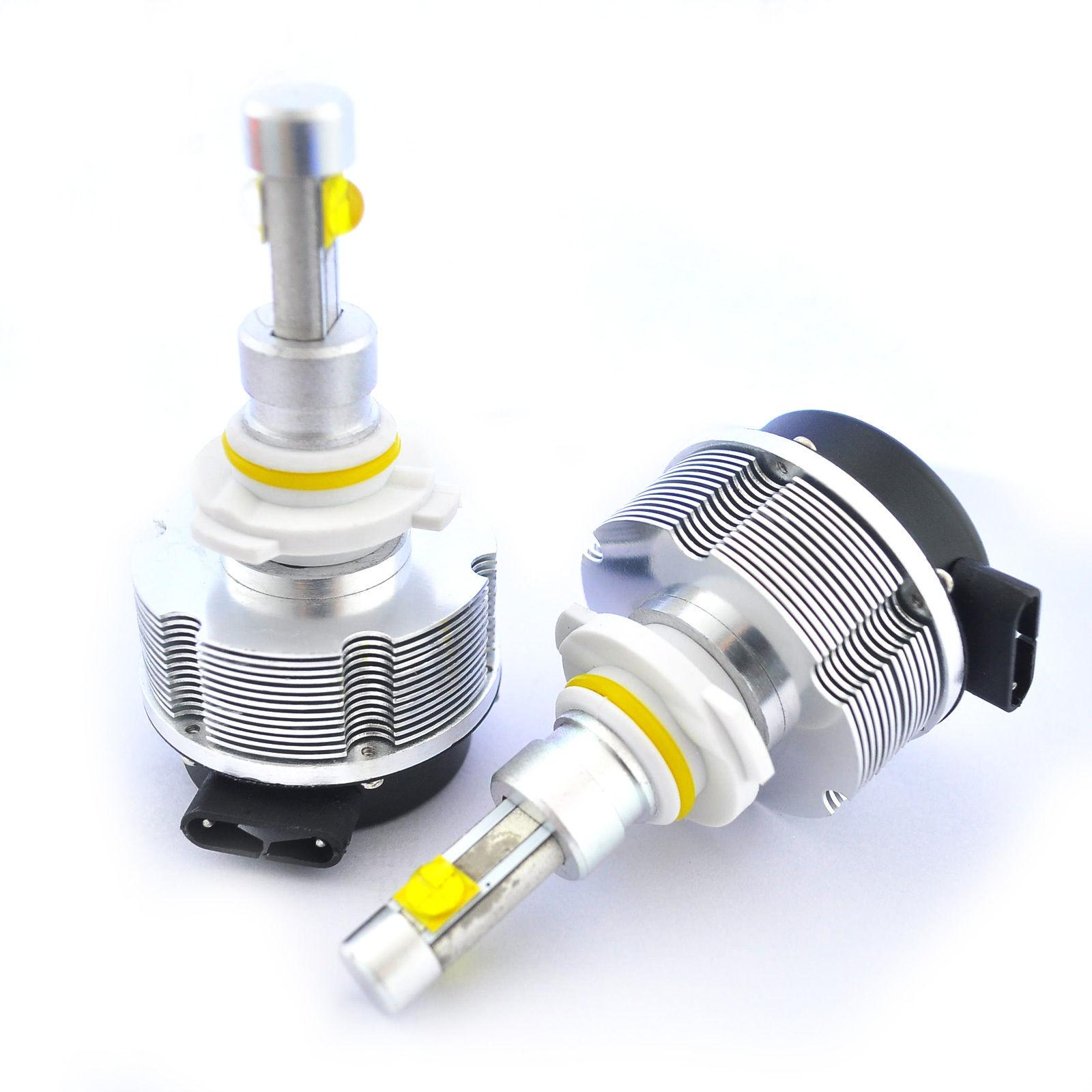 H4 60W CREE / ETI LED Headlight Headlamp 3000lm 2nd Gen. 12/24V 6000K Xenon White 30W/Bulb H1 H3 H7 H8 H9 H11 9005 9006 H13 9004 9007