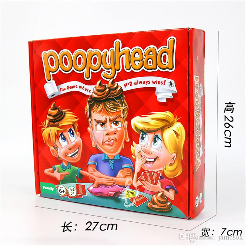Poopyhead party Family funny game for 2+players,the game where number 2 always wins,child-parent Hilarious smart game toy TO319