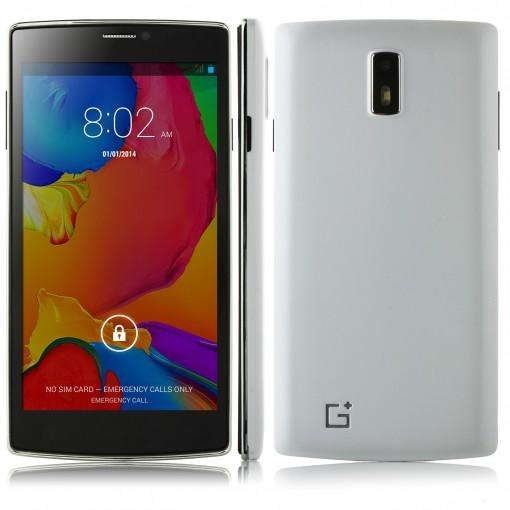 JIAKE G6 Android 4.4 OS MTK6572 Dual Core 5.5 Inch 4GB Dual Sim Cards Wifi 3G Unlocked Cell Phones With Free Gift In Stock