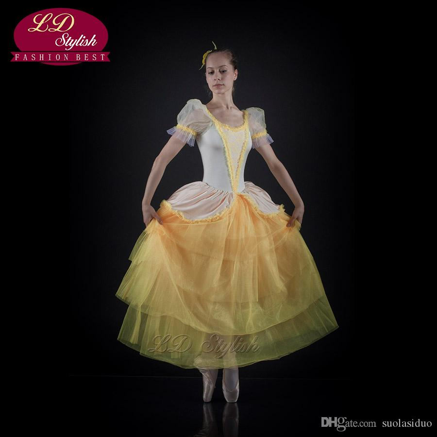 2019 Autumn And Winter Professional Adult Ballet Dance Skirt Sleeping Beauty  Annual Show French LDStylish Princess Veil SD0015I From Suolasiduo, ...