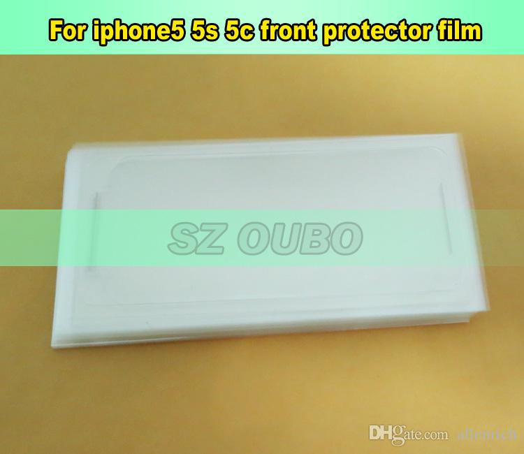 Front Clear Screen Protector Screen Protective Film For Apple iphone 5C 5S 5 5G Refurbishment DHL free