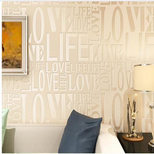 3d English Letter Grid Wallpaper For Walls Papel De Parede 3d Wall