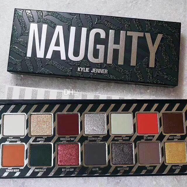 new kylie eye shadow palette christmas naughty and nice eyeshadow palette cosmetics makeup eye shadow eyeshadow primer how to apply eye makeup from alana001