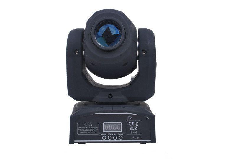 Бесплатная доставка 2 шт. / Лот 30 Вт светодиодные прожекторы прожектор AC90 - 240 В мини движущийся световой рисунок гобо 9/11 каналов DMX512