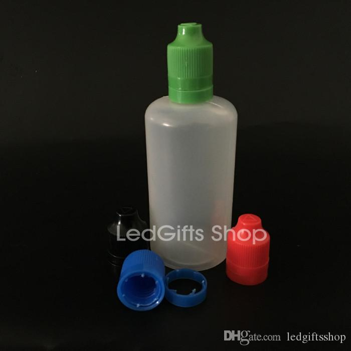 Geen verzendkosten!! 100 ml pe druppelaar flessen met tamper kind proof cap, lange dunne tip, 100 ml pe e vloeibare fles met tamper kinderproof cap