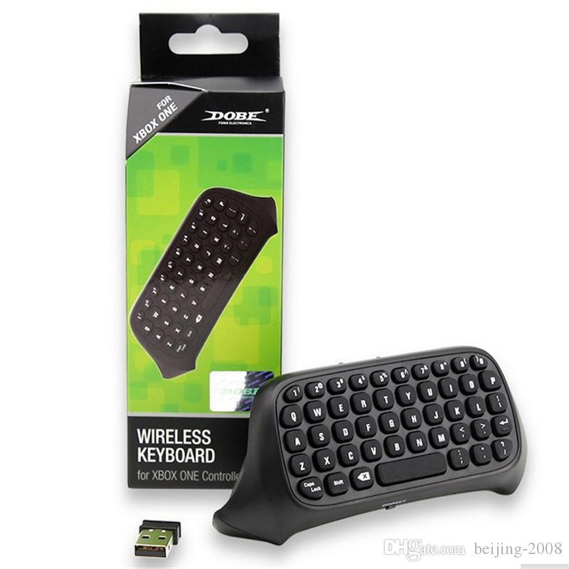 HOT russian laptop Chatpad Nuova tastiera professionale Mini 2.4G Wireless 10M Microsoft Xbox One Console Controller Black 010211