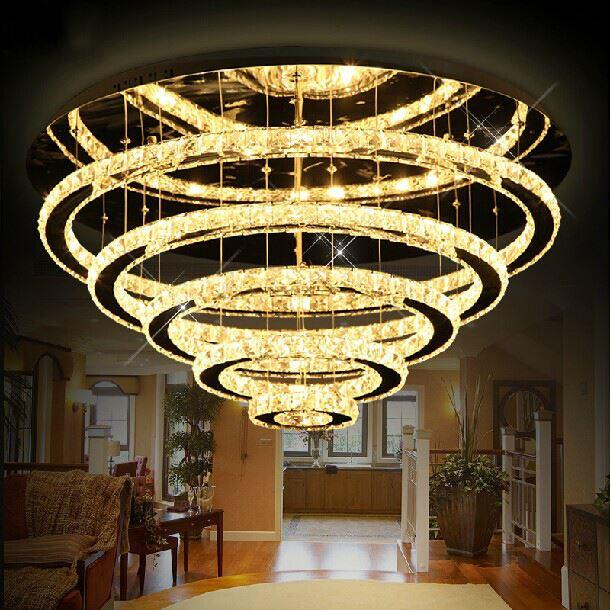 tiered collection high signature swarovski chandelier crystal elements champagne lights scale steel lighting oval designer chainmail on chandeliers aluminum luxury end grand