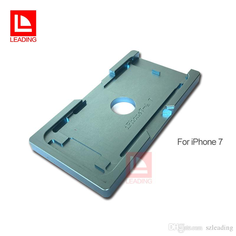 LCD Display Repairing Tool Alignment Mold + OCA Lamination Rubber Pad For iPhone 6 7 7P Plus iPhone 8 8P Cracked Glass Replacement