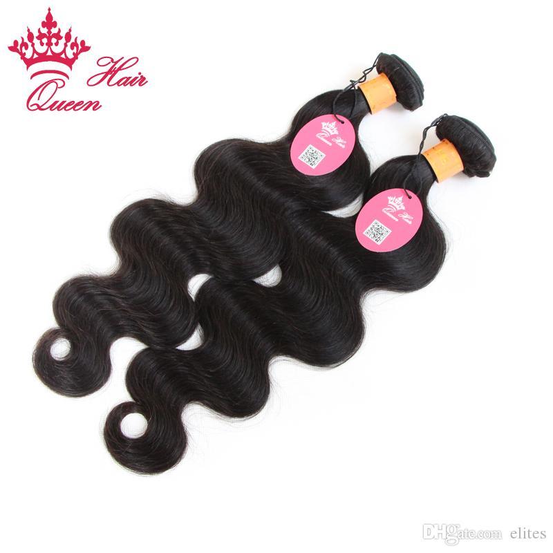 여왕 머리카락 처리되지 않은 300gram / 인도 처녀 머리카락 몸 파도 12inch 28inch, 100 % 인도 버진 헤어 DHL에 의해 무료 배송