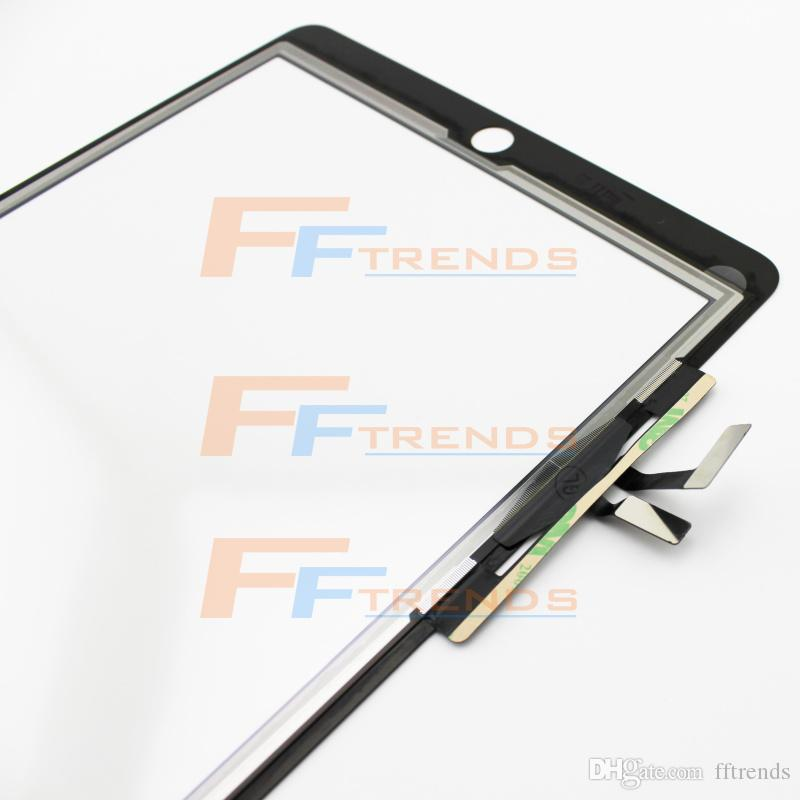 for iPad Air Touch Screen Digitizer White Black Glass Touch Panel High Quality