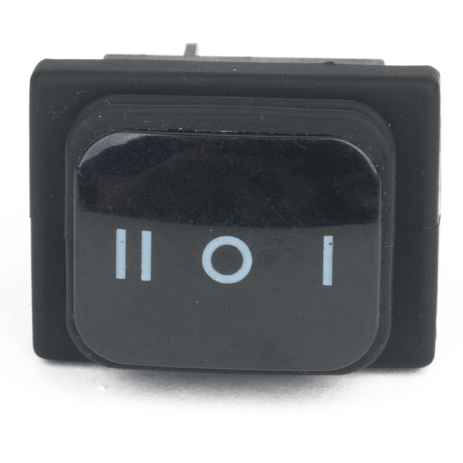 High Quality 1pc 12V 12A Car Boat ON-OFF-ON SPST 6 Pin Rocker Toggle Switch 3 Position Plastic Metal Switches Waterproof
