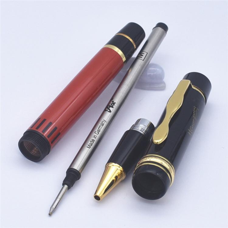 جودة عالية العلامة التجارية القلم اللوازم المدرسية مكتب طبعة محدودة الرول الكرة القلم / قلم أقلام حبر جاف هدية ماركة أزياء