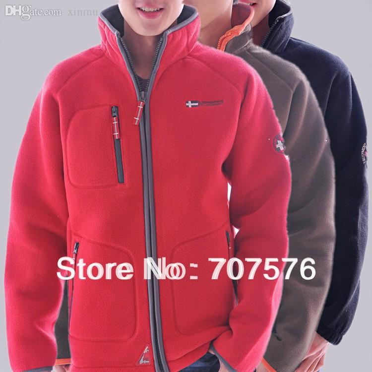 Fall Outdoor Casual Stand Collar Thick Outerwear Double Layer ...