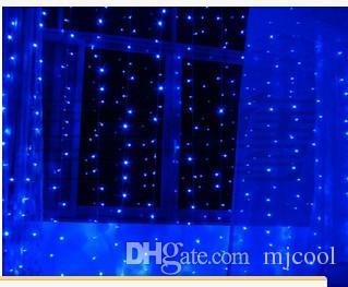 4 * 3 m 400 LED rideau mariage lumière fond de décoration de fenêtre décoration extérieure imperméable à l'eau LED scintillement lumière LED vacances série