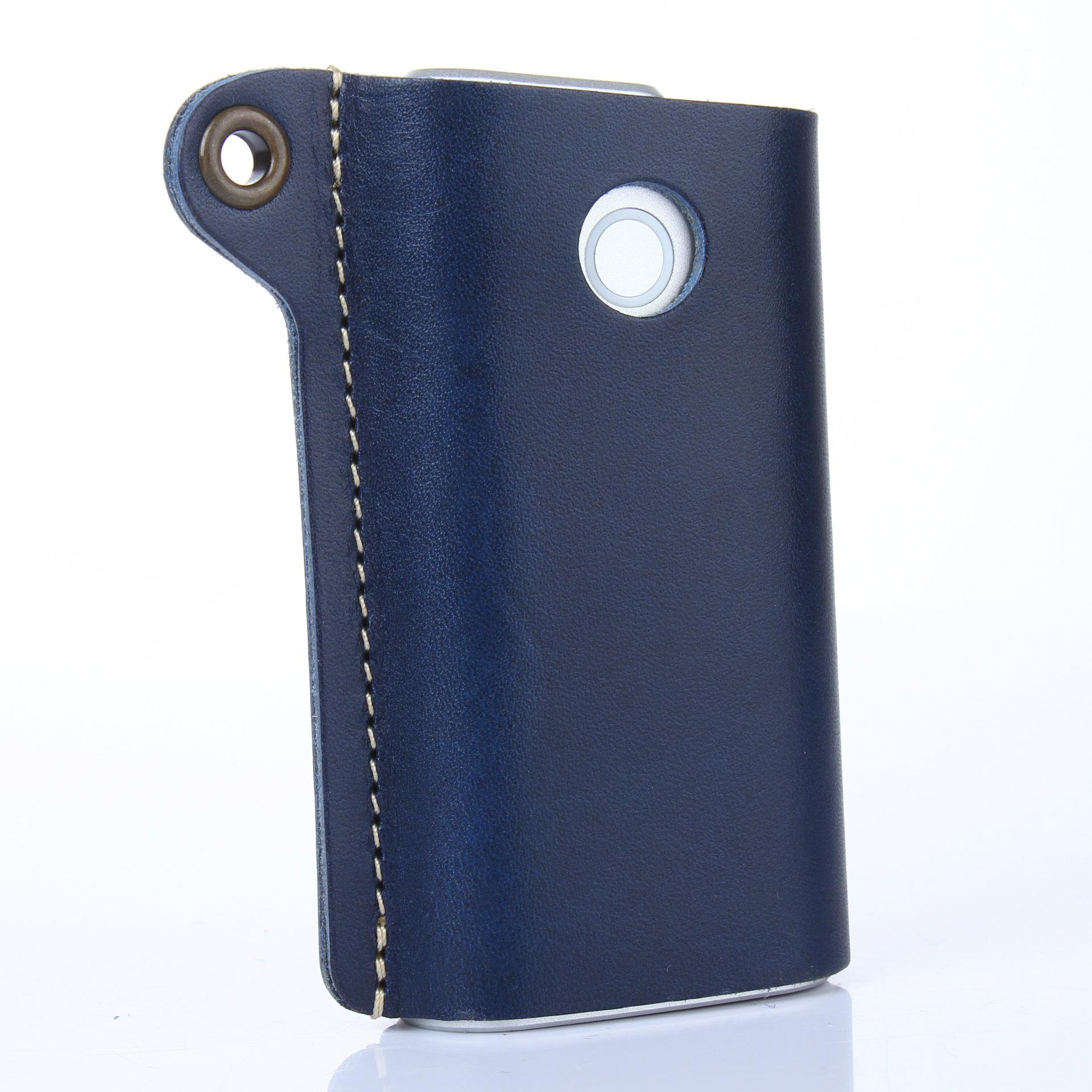 Colorful GLO Electronic Cigarette Leather Case Anti Dust Cover Skin Case Bag Sleeve For GLO E-Cigarette Leather Case