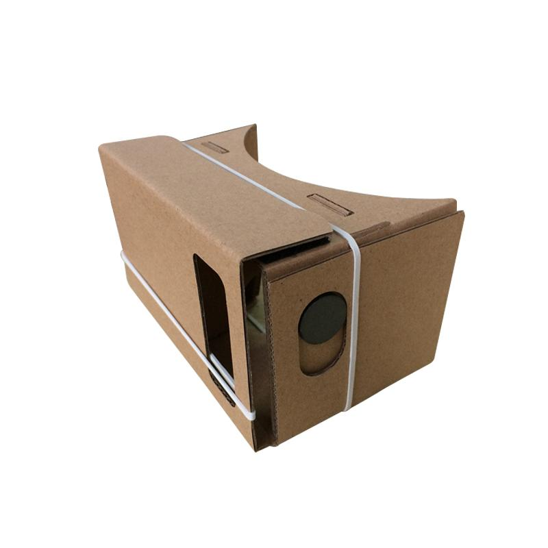 2015 Google Cardboard VR Realidad Virtual Gafas 3D Storm Mirror DIY Kit y Head Mount correa para iphone 6 6 más 5 5s 4 samsung s6 edge