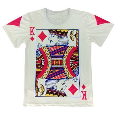 6b60aa6ae52 L0101 Alisister New Fashion Men Women 3d T Shirt Print Poker Cards K ...