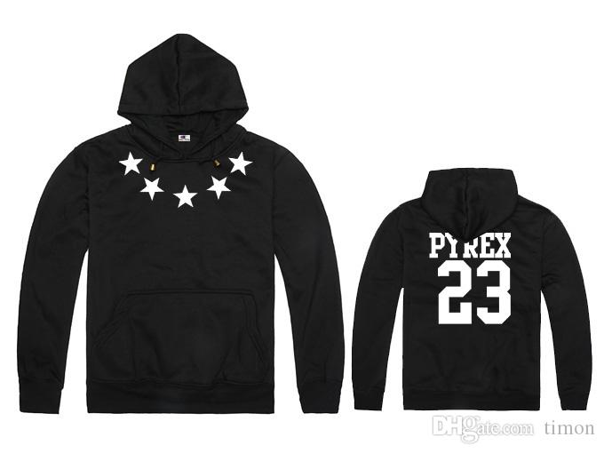 Men and Women Fall and Winter Hood BY Air Pyrex Vision 23 Religion fleece Hoodies Hiphop Sweatshirts Men Tide 11 Colors