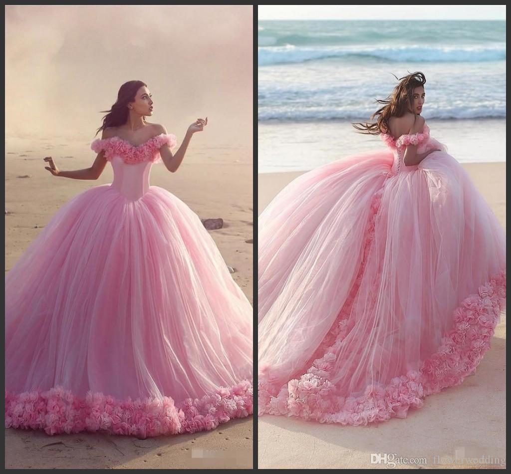New Arrival Arabic Ball Gown Wedding Dresses 2018 Custom Made ...