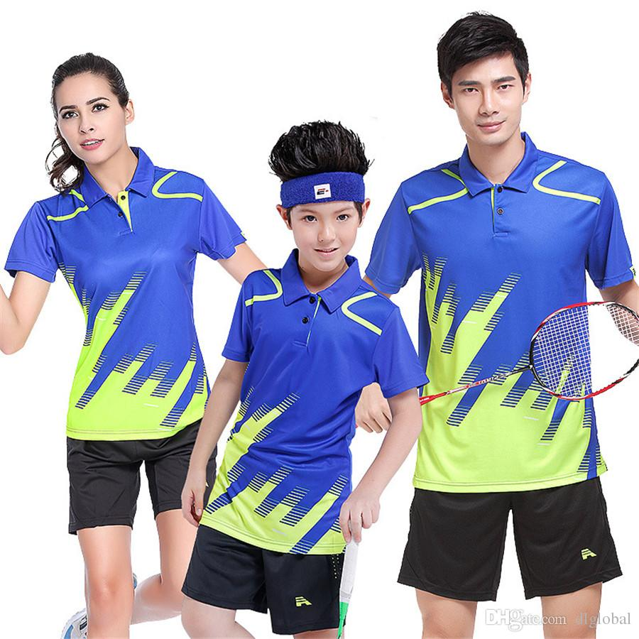 54b7cfb51878 2019 Fashion Badminton Wear Suits Women Couple Group Activities Jerseys  Clothing From Dlglobal
